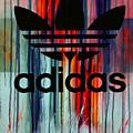 Adidas Plakative - Typografie by Felix Von Altersheim