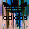 Adidas Plakative - Typografie 01 by Felix Von Altersheim