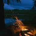 Adirondack Campfire by Tony Beaver