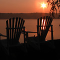 Adirondack Chairs-1 by Michael Mooney