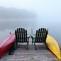 Adirondack Fog Panorama by David Patterson