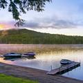 Adirondack Lake Sunrise by Christina Rollo