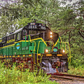 Adirondack Scenic Rr Engine 1845 by Rod Best
