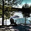 Adirondack Silhouette by David Patterson