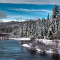 Adirondack Snowfall by David Patterson