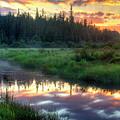 Adirondack Sunrise by Tony Beaver