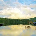 Adirondack Sunset by Christina Rollo