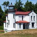 Admiralty Head Lighthouse by Linda Kerkau