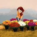 Admiring The Mums by Ashley Boh