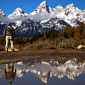 Admiring The Teton Sights by Adam Jewell