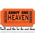 Admit One by Edward Ruth