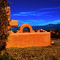 Adobe At Sunset by Charles Muhle