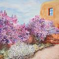 Adobe Lilacs by Ann Sokolovich