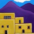 Adobe Village by Anggelyka Apostle