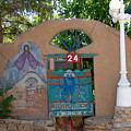 Adobe Wall Chimayo  by David Lee Thompson