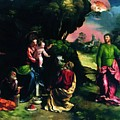 Adoration Of The Magi 1520 by Dossi Dosso