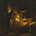 Adoration Of The Shepherds by Carl Heinrich Bloch