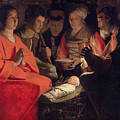 Adoration Of The Shepherds by Georges de la Tour