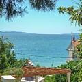 Adriatic Coast Sea View by Olga Kurygina