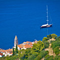 Adriatic Town Of Vis Sailing Destination Waterfront by Brch Photography