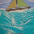 Adrift At Sea by Edwin Long