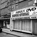 adult dvd store and sex shop Northern quarter Manchester uk by Joe Fox
