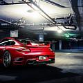 Adv1 Red Porsche 2 by Alice Kent