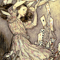 Adventures in Wonderland by Arthur Rackham