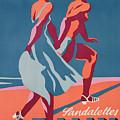 Advertisement For Bally Sandals by Druck Gebr