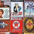 Advertising Signs Display by Stuart Litoff