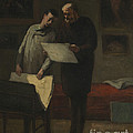 Advice To A Young Artist by Honor? Daumier
