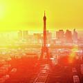 Sunset In Paris  by Anastasy Yarmolovich