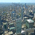 Aerial Abstract Toronto by John Malone