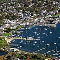 Aerial Edgartown by John Greim