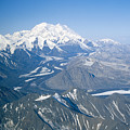 Aerial Of Mount Mckinley by Rich Reid