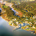 Aerial View Of Hilton Head Sc by Chris Smith