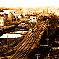 Aerial View Of Old Beverly Depot 1895 by Lita Kelley