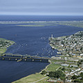 Aerial View Of The Mouth Of Merrimack by Jack Fletcher