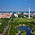 Aerial View Of The National Mall And Washington Monument by Mountain Dreams