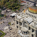 Aerial View Of The Palace Of Fine Arts by Chon Kit Leong