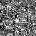 Aerial View Of Union Square by Underwood Archives
