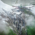 Aerial Waterfall by Stephanie Wolden
