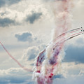 Aerobatic Group Formation  At Blue Sky by Mariusz Prusaczyk