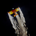 Aerobatics With Firework by Art Spectrum