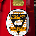 Aerogas Red Pump by David Lee Thompson