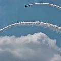 Aeroshell Aerobatics by DigiArt Diaries by Vicky B Fuller