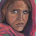 Afghan Girl by Jean Haynes