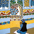 Afghan Mosque by Stephanie Moore