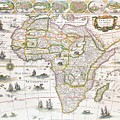 Africa Nova Map by Willem Blaeu