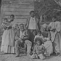 African American Slave Family by Everett
